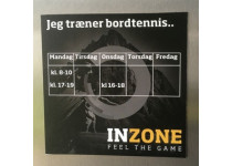 Inzone Køleskabsmagnet